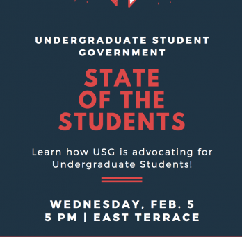 Come and join us at State of the Students!